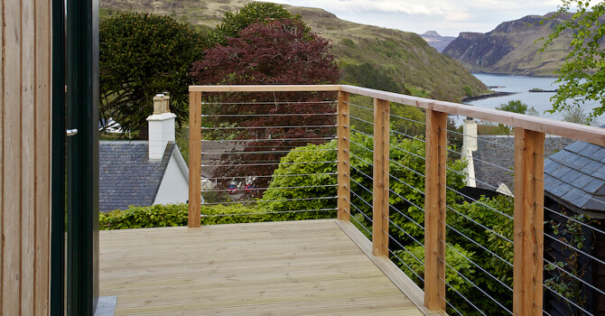Surface Mount Balustrade Wire Made To Measure S3i Group