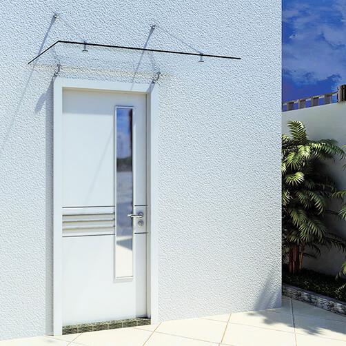 Glass Door Canopy Kits 4 Point Fixing S3i Group