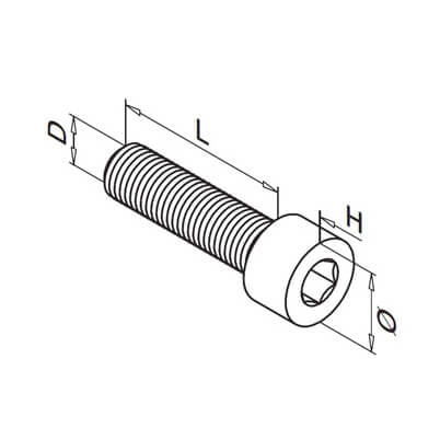 hex head bolt diagram hex head cap screw | s3i group