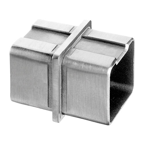 Square Flush In Line Tube Connector S3i Group