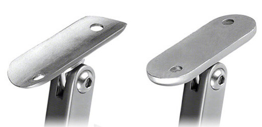 Square Adjustable Handrail Brackets S3i Group