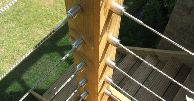 Balustrade Cable Railing Projects | S3i Group